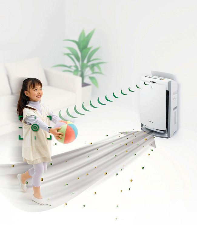 Máy lọc không khí panasonic f-pxf35a bảo vệ gia đình bạn mạnh khỏe