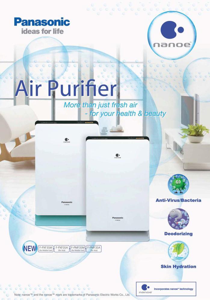 Các loại máy lọc không khí panasonic f-pxf35a