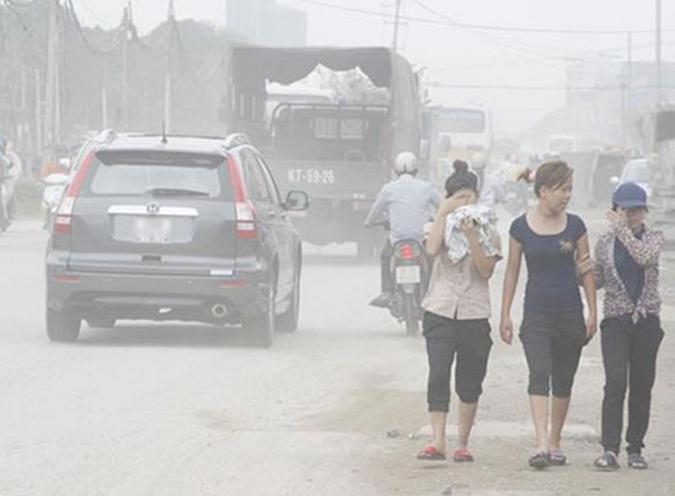 ô nhiễm không khí,nguồn gốc gây ô nhiễm không khí,cách phòng chống ô nhiễm không khí