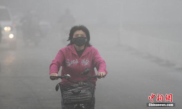 ô nhiễm không khí tại trung quốc, sử dụng máy lọc không khí, làm sạch không khí