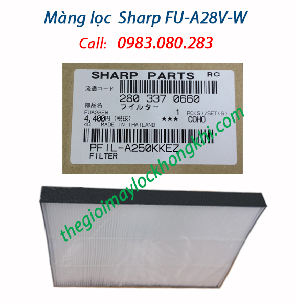 Màng lọc HEPA máy Sharp FU-A28EV-W